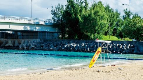 波の上ビーチ広場